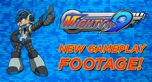 Mighty No. 9 Footage