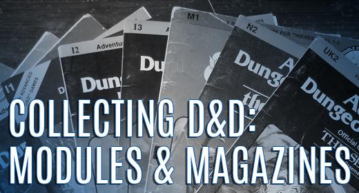 D&D Modules & Magazines