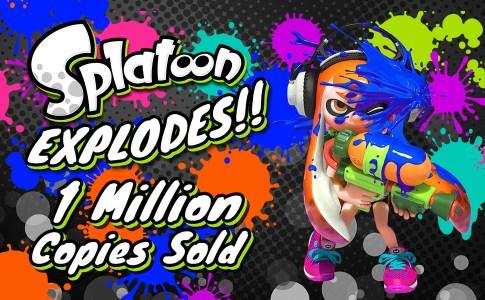 Splatoon 1 Million Copies