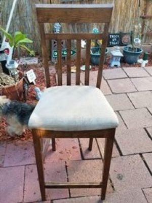 DIY, Re-upholster Chair, Home Decor, DIY Home Decor