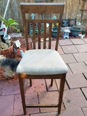 DIY, Re-upholster Chair, Home Decor, DIY Home Decor