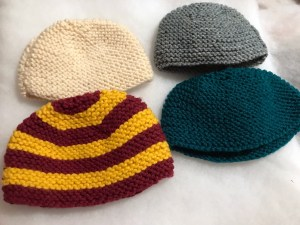 Beanie, baby beanie, knit, knitting, diy