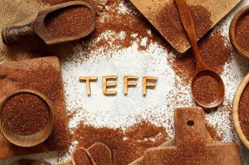 Raw teff grain