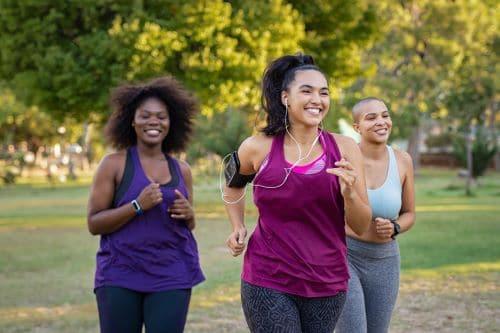 Women Jogging