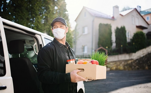 Produce Grocery Delivery Without Leaving Home