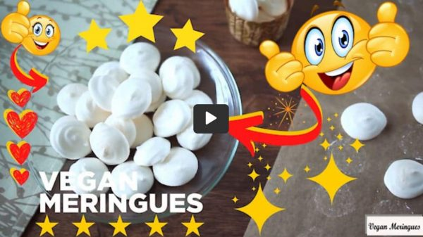 Simple Yet Delicious Recipe: Vegan Meringues