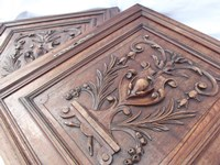 Antique cabinet doors suitable for hanging on the wall