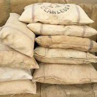 Grain sack pillows on Etsy