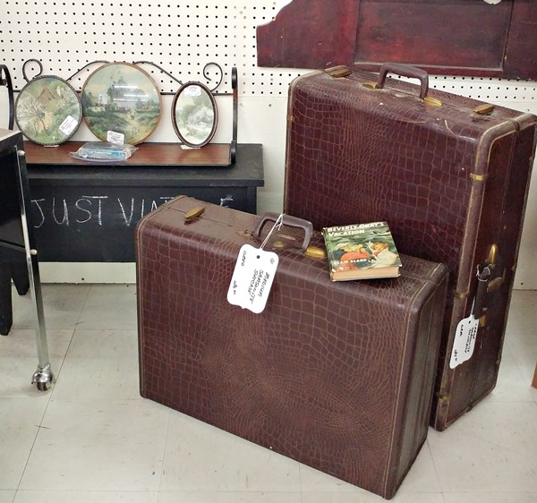 Old Samsonite luggage