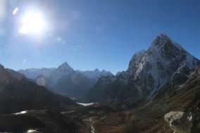Picture taken back towards Dzongkha