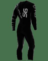 Orca Mens S6 fullsleeve triathlon wetsuits back