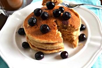 Pancakes – Gluten Free, Vegan, & Refined Sugar Free
