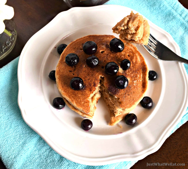 Pancakes - Gluten Free, Vegan, & Refined Sugar Free