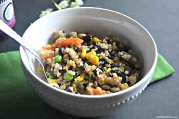 Black Bean Quinoa Bowls – Gluten Free & Vegan