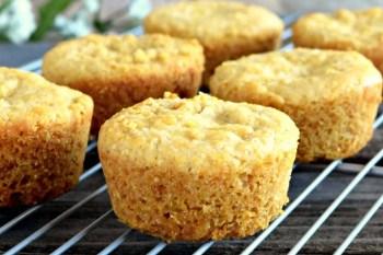 Cornbread Muffins - Gluten Free, Vegan
