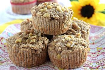 Banana Nut Muffins – Gluten Free, Vegan, & Refined Sugar Free