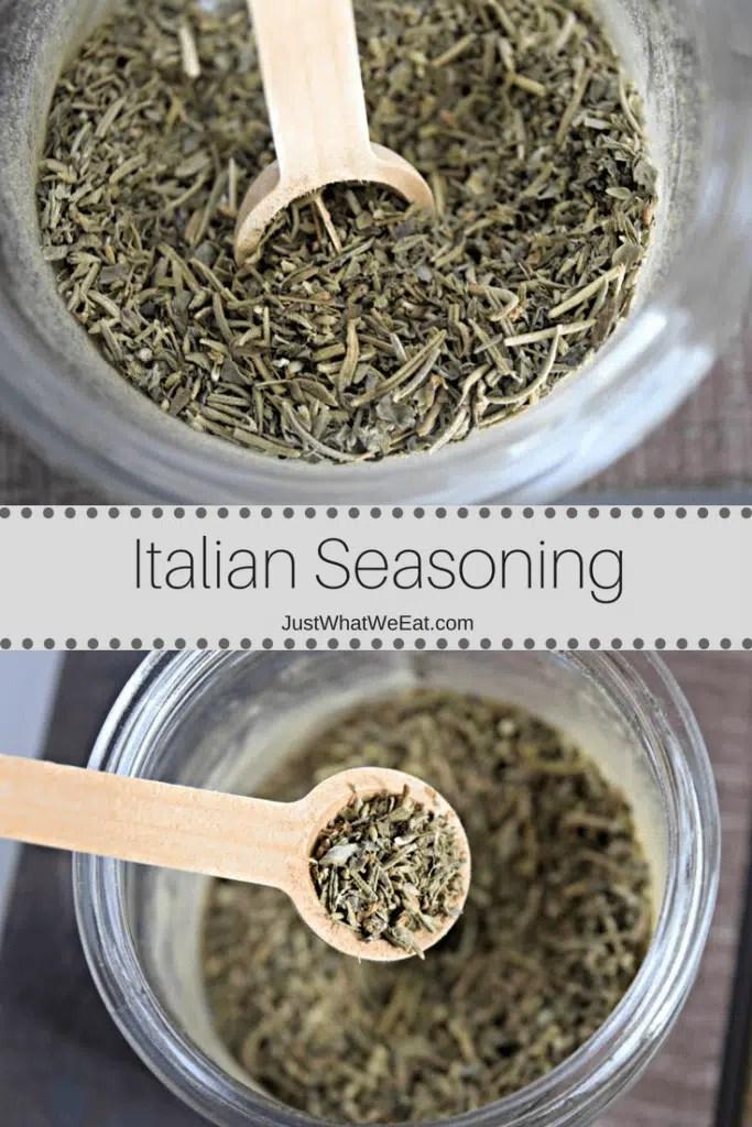 Homemade Italian Seasoning