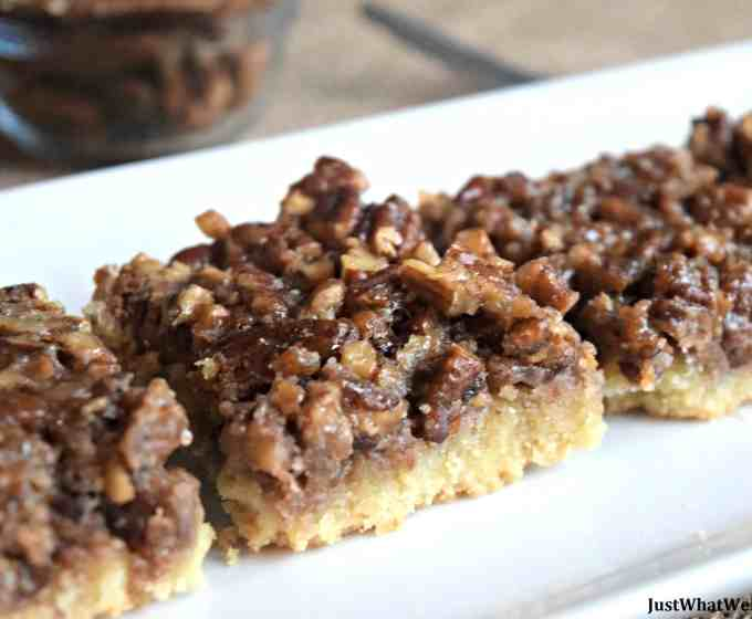 Pecan Pie Bars – Gluten Free, Vegan, & Refined Sugar Free