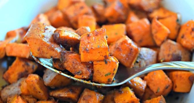 BBQ Roasted Sweet Potatoes – Gluten Free & Vegan