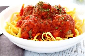 Italian Baked Meatballs – Gluten Free, Dairy Free, & Egg Free