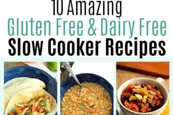 10 Amazing Gluten Free and Dairy Free Slow Cooker Recipes