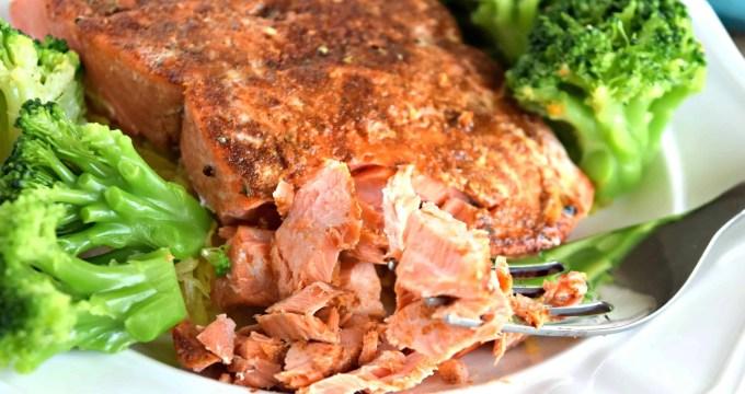 BBQ Baked Salmon – Gluten Free & Dairy Free