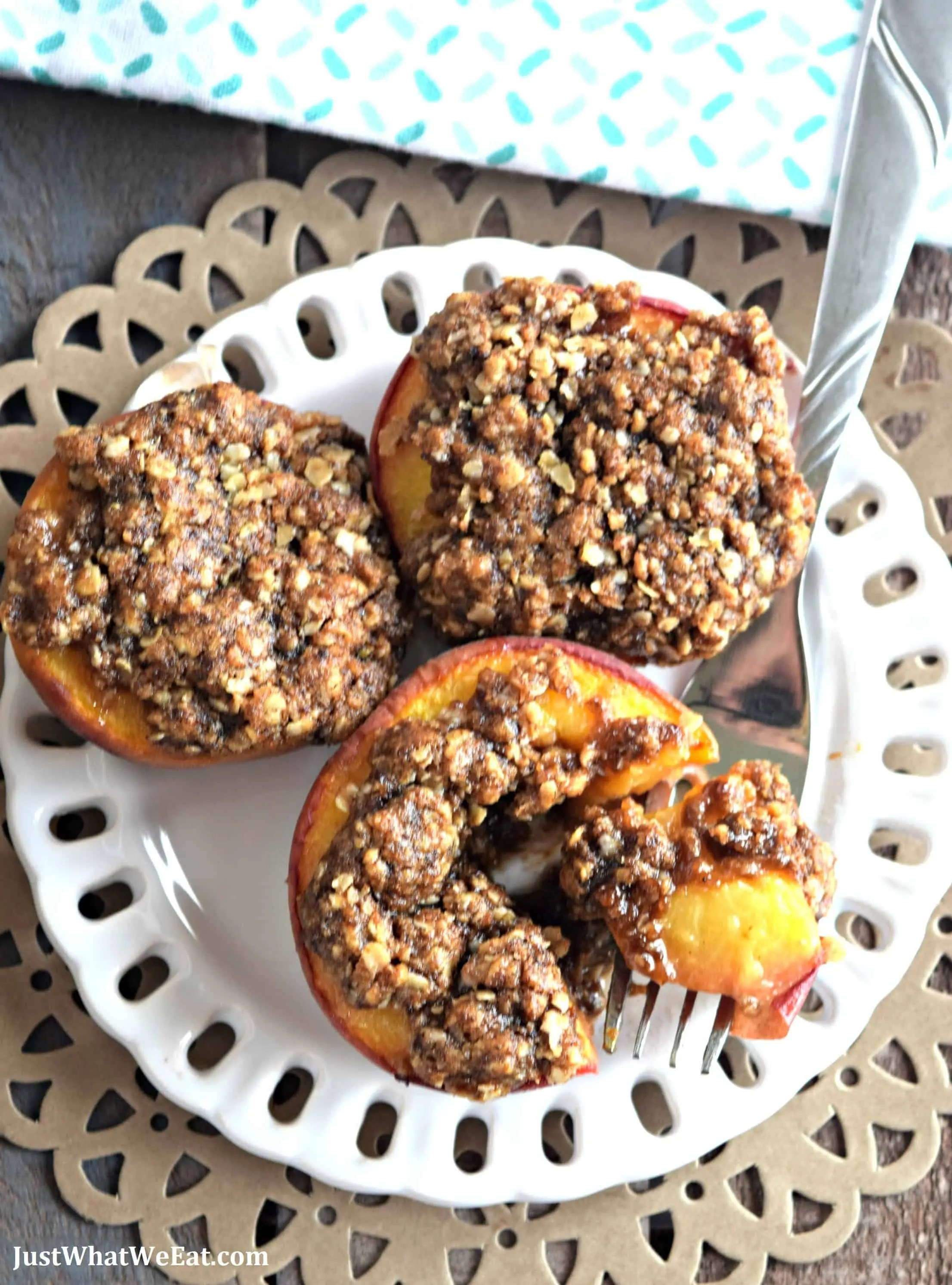 Baked-Peaches-with-Streusel-Topping-Gluten-Free-Vegan-Refined-Sugar-Free-3