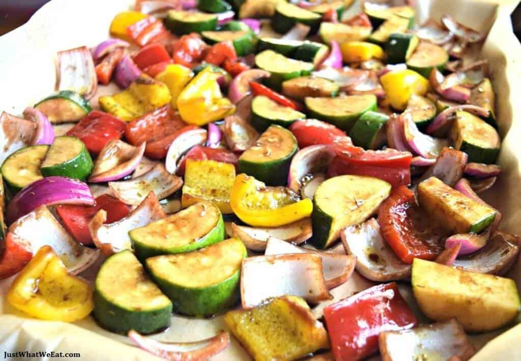 Balsamic Roasted Vegetables - Gluten Free & Vegan