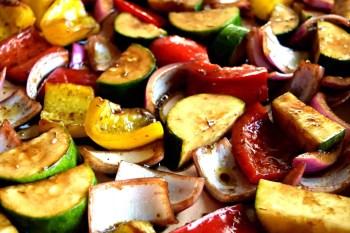 Balsamic Roasted Vegetables – Gluten Free & Vegan