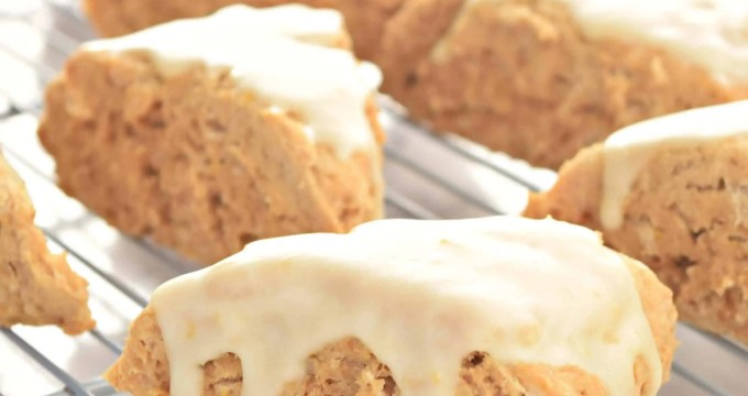 Orange Scones – Gluten Free, Vegan, and Refined Sugar Free