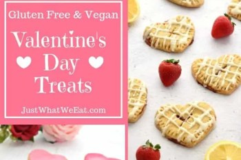 Valentines Day Treats – Gluten Free and Vegan