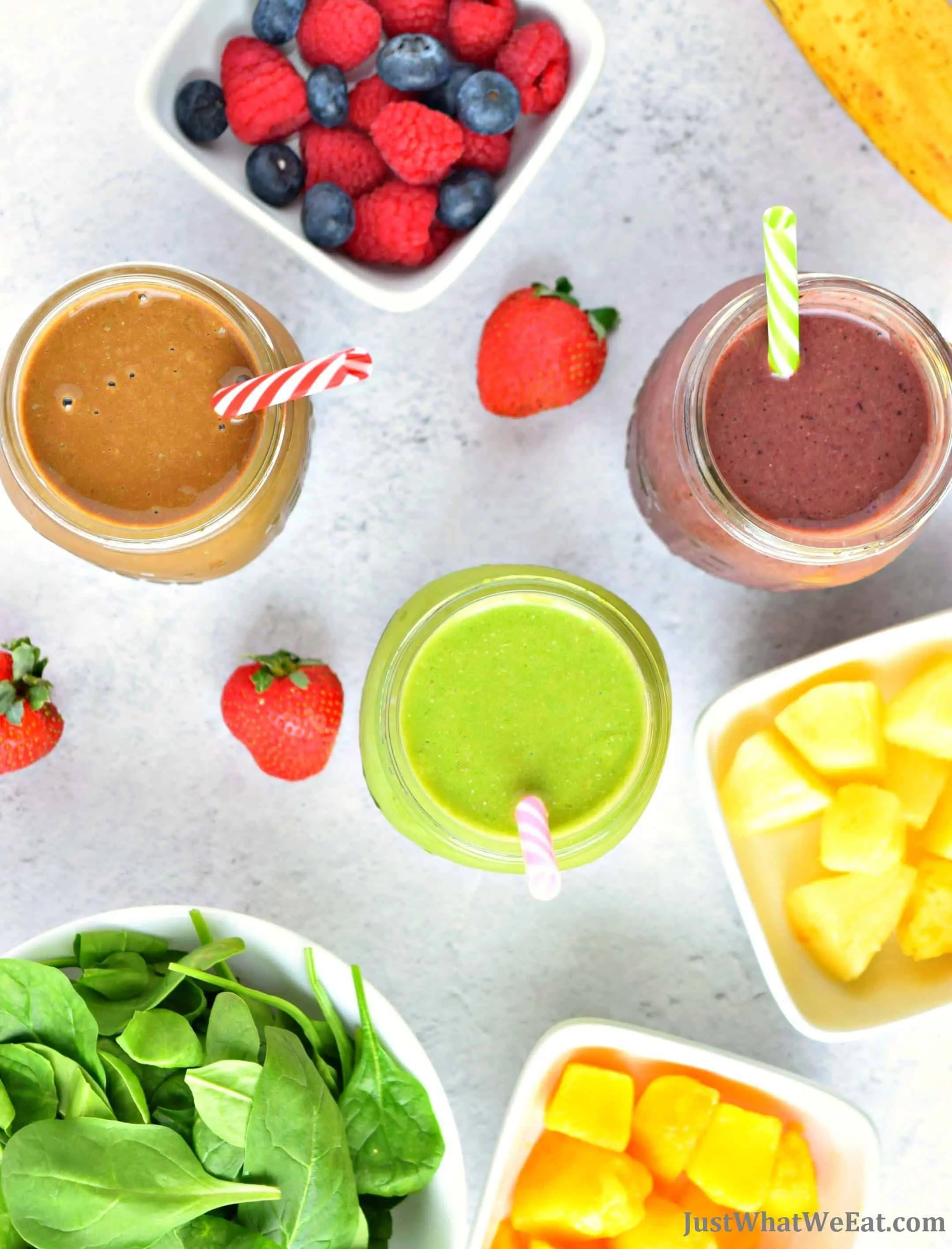 Healthy Smoothies - Gluten Free, Vegan, Dairy Free, Refined Sugar Free