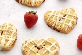 Strawberry Lemon Hand Pies – Gluten Free, Vegan