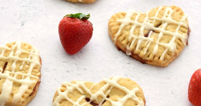 Strawberry Lemon Hand Pies – Gluten Free, Vegan