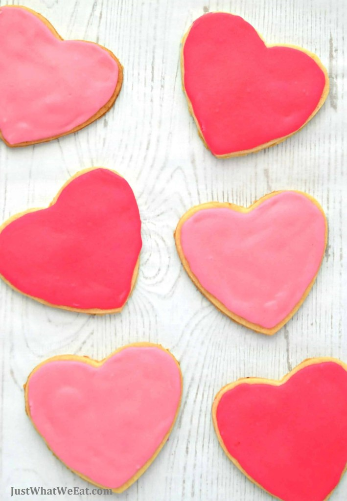 Valentine's Day Cut Out Cookies - Gluten Free, Vegan