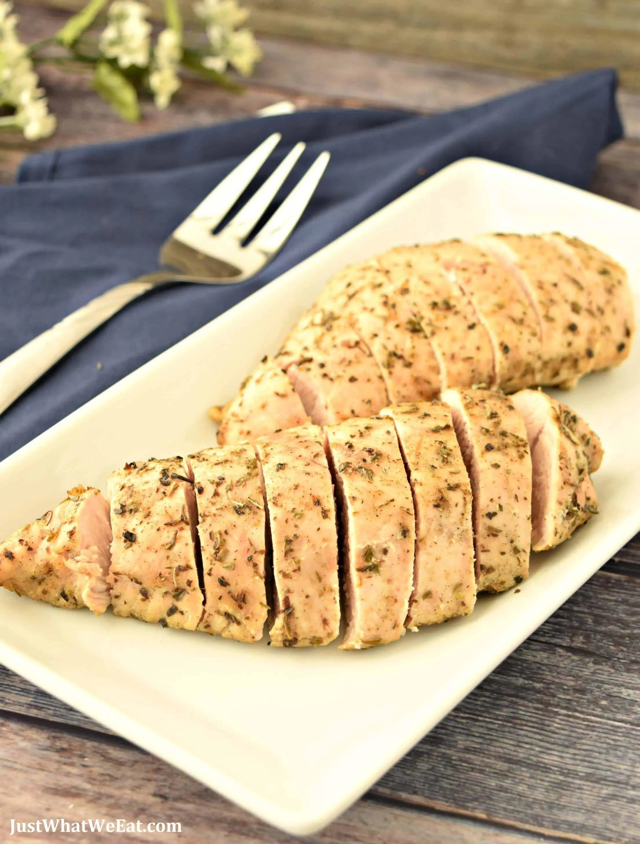 Oven Roasted Turkey Tenderloin - Gluten Free, Dairy Free