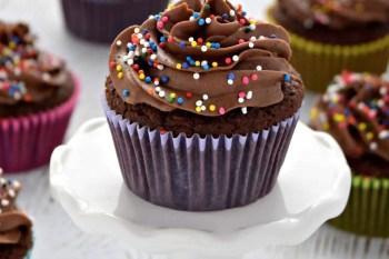 Chocolate Cupcakes – Gluten Free Vegan Dairy Free