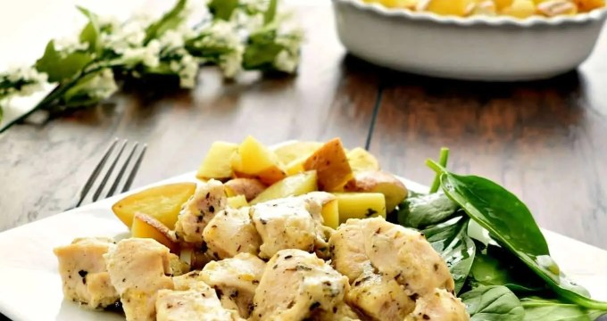 Greek Lemon Chicken – Gluten Free, Dairy Free