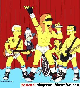 Springfieldfornication doesn't really work does it? RHCP on the Simpsons