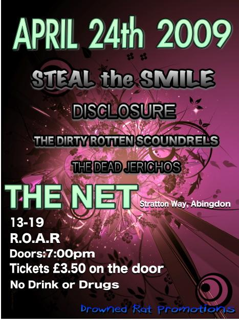 Steal The Smile rock Abingdon - be there or be square!