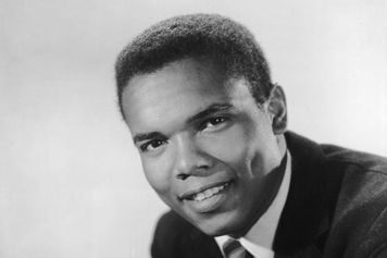 An Early Shot Of Johnny Nash