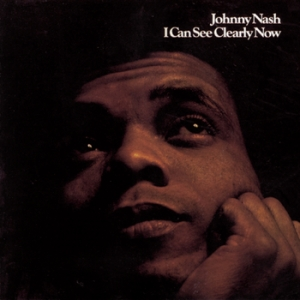 """The cover of Johnny Nash's """"I Can See Clearly Now"""" album"""