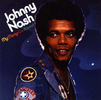 """The cover of my favourite Johnny Nash album """"My Merry Go Round"""""""