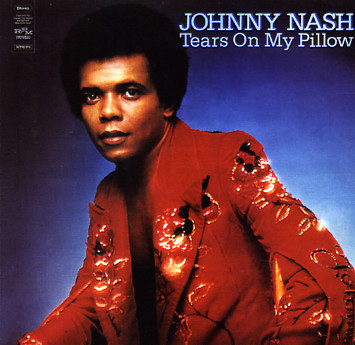 """The cover of Johnny Nash's """"Tears On My Pillow"""" album"""