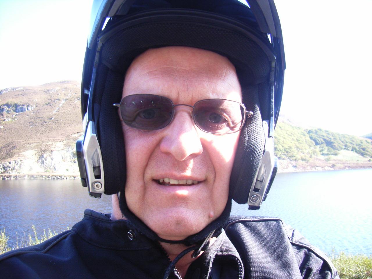 Me and my helmet :-)