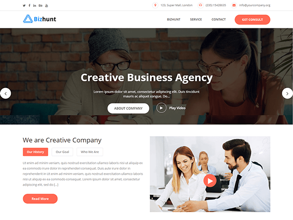 best business wordpress premium themes