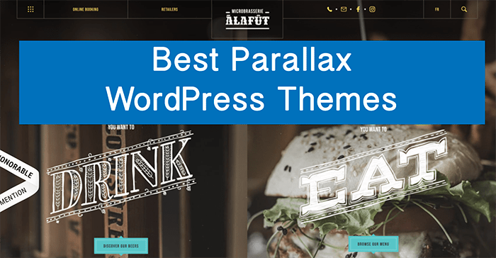 15+ Best Parallax WordPress Themes of 2018