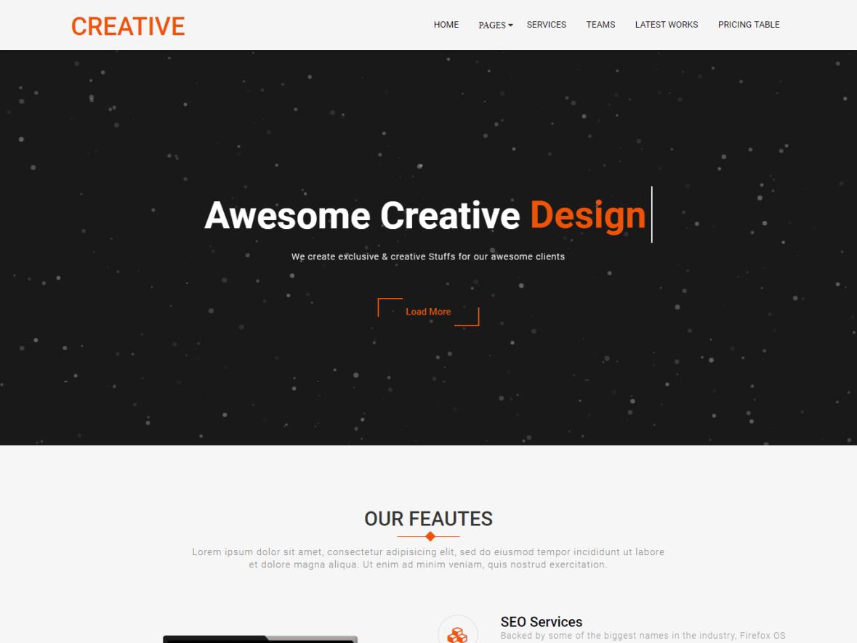 creative company plus just wp themes