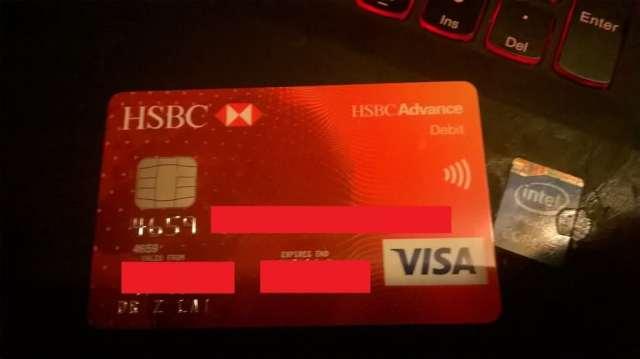 hsbc advance debit card   Applydocoument co