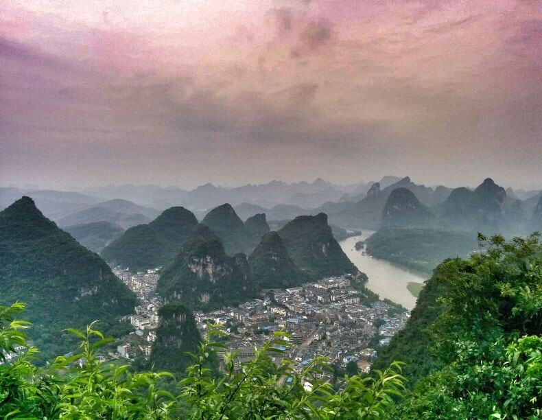 Yangshuo TV Tower by Jenn Malka